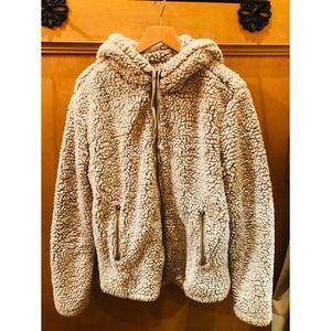Wubby/ Sherpa full zip jacket